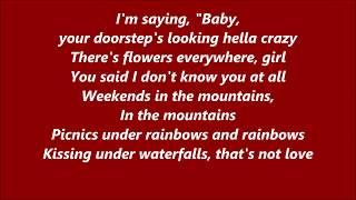 Luke Christopher   Waterfalls (Lyrics)