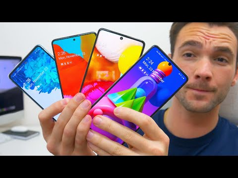 The Best Samsung Phones To Buy Right Now! (Late 2020) ALL Budgets