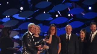 paul o grady accepts his National TV award 22.01.19
