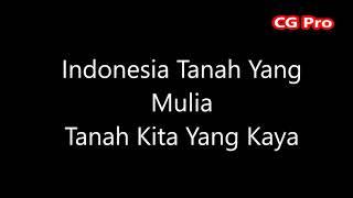 Lagu Indonesia Raya 3 Stanza Bait
