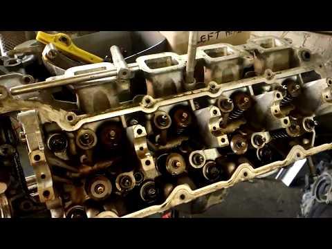 Фото к видео: Разбираем заклинивший двигатель 4.7 Jeep Grand Cherokee II