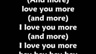JLS Love You More With Lyrics