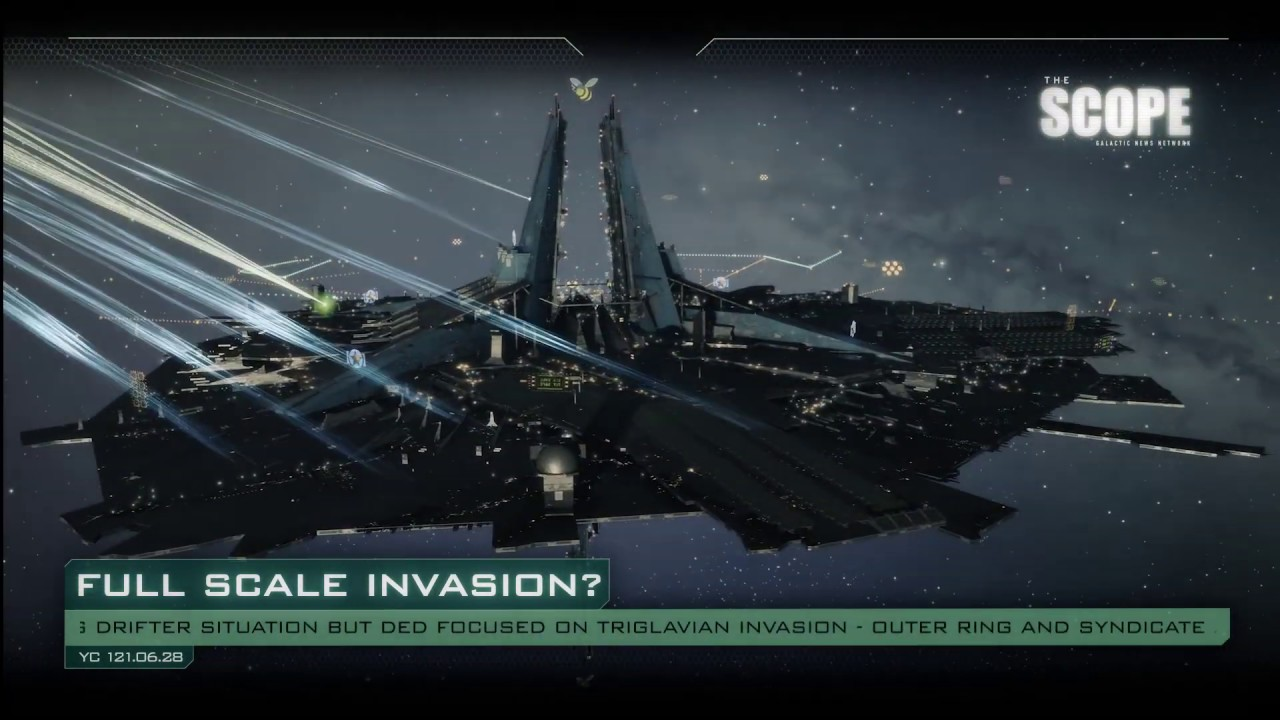 EVE Online - The Scope - Breaking News: Drifter Invasion
