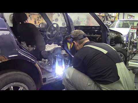 Фото Как еще больше не надо делать автомобили. Body repair after an accident.
