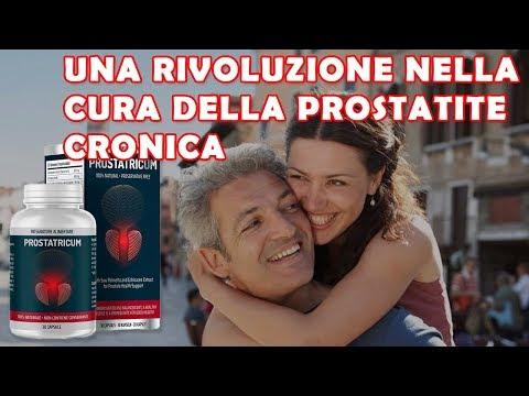 Riduzione sperma di prostatite cronica