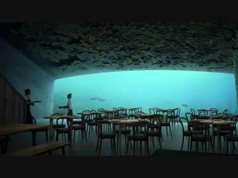 Το πρώτο υποθαλάσσιο εστιατόριο της Ευρώπης ανοίγει τις πόρτες του