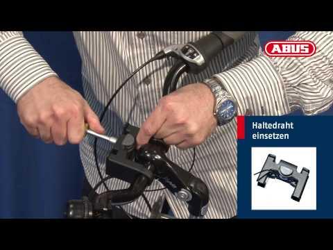 Klick-Fix Lenker-Halter für ABUS Lenkertaschen - DE