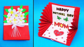 Beautiful Mother's Day Card Idea| Handmade Greeting Card for mom| DIY Mother's Day Pop Up Card