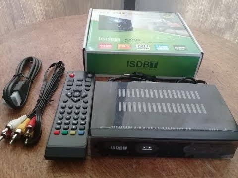 Configuración Sintonizador Tv Digital HD TDT ISDB-T  HDMI-RCA-USB