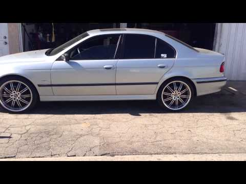 Bye Rims 97-03 BMW 5-SERIES E39 528I 540I M5 M52