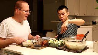 Khi Long Vào Bếp: Cháo Hến| Long Tran USA