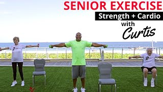Cardio & Weight Training for Seniors by Curtis Adams