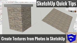 Importing Images as Textures in Your SketchUp Model - SketchUp Quick Tips