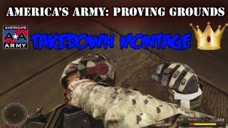 America's Army: Proving Grounds - Funny Takedown Montage