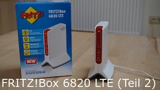 AVM FRITZ!Box 6820 LTE (Teil 2)