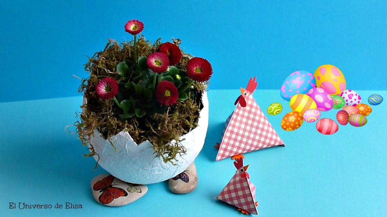 Decoración para Pascua, Manualidades para Pascua, Cómo Hacer Huevos de Pascua  con Venda de Yeso