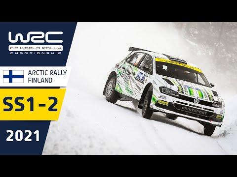 WRC2 2021 第2戦のラリーフィンランド 金曜日のハイライト動画