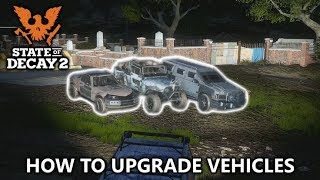 State of Decay 2 - How to Upgrade Vehicles and Craft Repair Toolkits - War Rig Achievement Guide