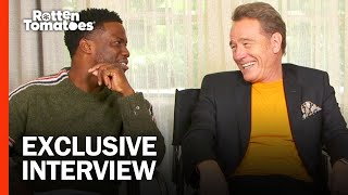 Bryan Cranston and Kevin Hart on Remixing a French Favorite with 'The Upside' | Rotten Tomatoes