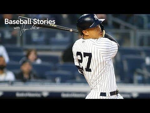 Giancarlo Stanton Describes Hitting 18 Home Runs in a Month | Baseball Stories