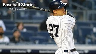 Giancarlo Stanton Describes Hitting 18 Home Runs in a Month | Baseball Stories