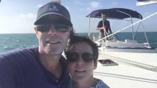 Sailing 10 knots