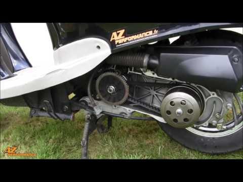 Changer la courroie de variateur de son scooter de type Gy6 / 139QMB / …