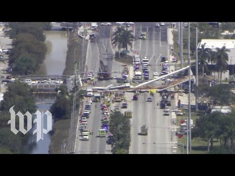 What we know about the pedestrian bridge collapse in South Florida
