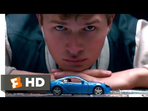 Video trailer för Baby Driver (2017) - A Score for a Score Scene (4/10)   Movieclips
