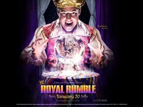 "WWE Royal Rumble 2012 Official Theme Song- ""Dark Horses"""