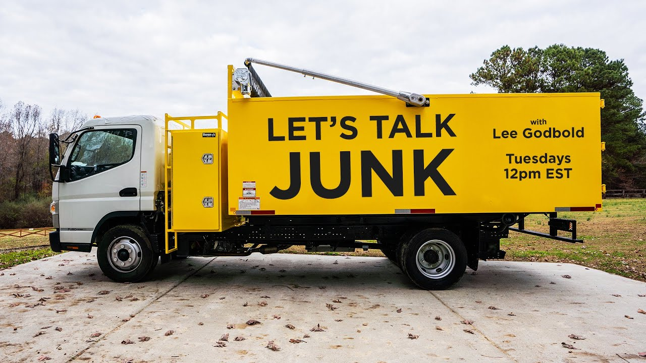 $50 Amazon Gift Card Giveaway!!! Let's Talk Junk with Lee Godbold - Junk Removal Tips