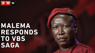 Malema maintains his innocence in the VBS saga