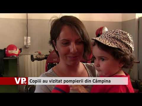 Copiii au vizitat pompierii din Câmpina