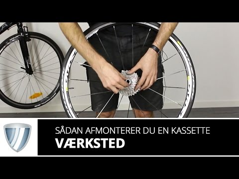 Aftrækker for Kassette HG Shimano video
