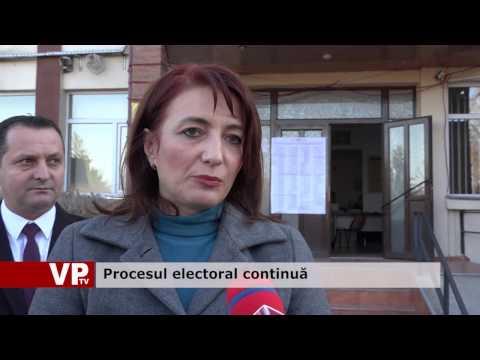 Procesul electoral continuă