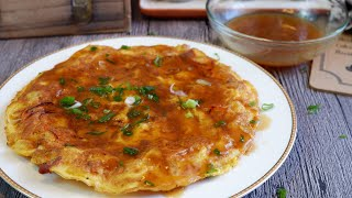 Quick & Easy Egg Foo Young w/ Gravy 芙蓉蛋 Chinese Omelette Recipe | Chinese Egg Recipe | Chinese Food