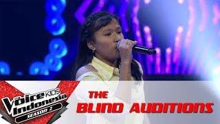 "Tania ""Berharap Tak Berpisah""   The Blind Auditions   The Voice Kids Indonesia Season2 GlobalTV 2017"