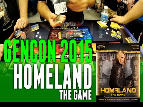 GenCon 2015 Coverage: Homeland