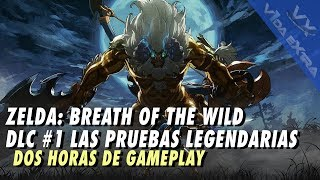 Breath of the Wild - Dos horas de gameplay de Las Pruebas Legendarias
