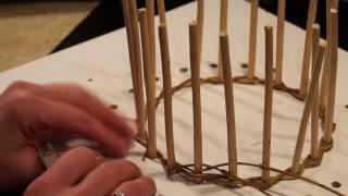 Плетение из ивы для начинающих