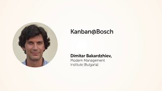 KEA20: Kanban@Bosch. Dimitar Bakardzhiev.