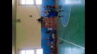 Волейбол. СОШ с. Сасыколи - СОШ г. Харабали. 3 партия
