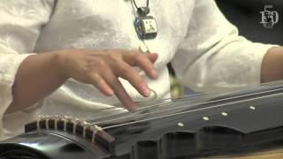 """IX """"We Gather Friends"""" in Moscow. Chinese classical music. Li Fengyun (guqin), Wang Jianxin (xiao)"""