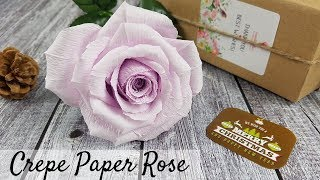 Realistic Paper Roses Handmade Crepe Paper Flowers - Ideal Gift For Her
