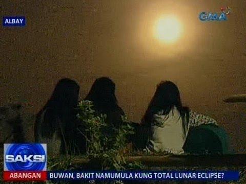 Saksi: Super Blue Blood Moon, binantayan sa gitna ng pag-aalboroto ng Mayon