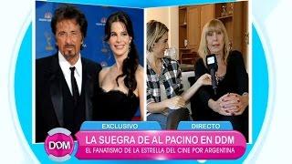 Conocé a la extravagante Mariana Scull, la argentina suegra de Al Pacino