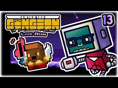 Reto's Biggest Mistake | Part 13 | Let's Play: Enter the Gungeon: A Farewell to Arms | Twitch VoD