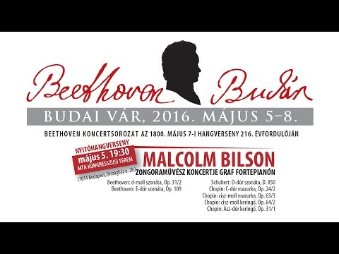 Beethoven Budán 2015 - Malcolm Bilson - video preview image