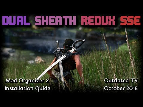 Skyrim special edition dual sheath redux