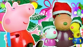 Peppa Pig Official Channel 🎁 Peppa Pig Stop Motion: Peppa Pig at Christmas Market